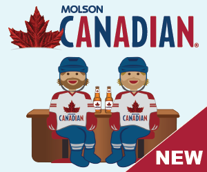 Say hello with Molson