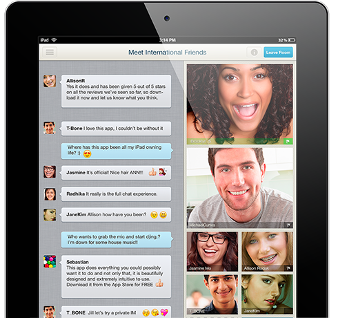 Paltalk for iPad